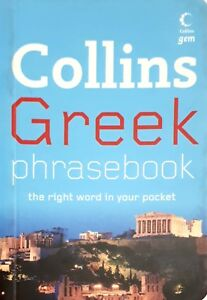 NEW-Collins-Greek-Phrasebook-the-Right-Word-in-Your-Pocket-travel-tips-paperback