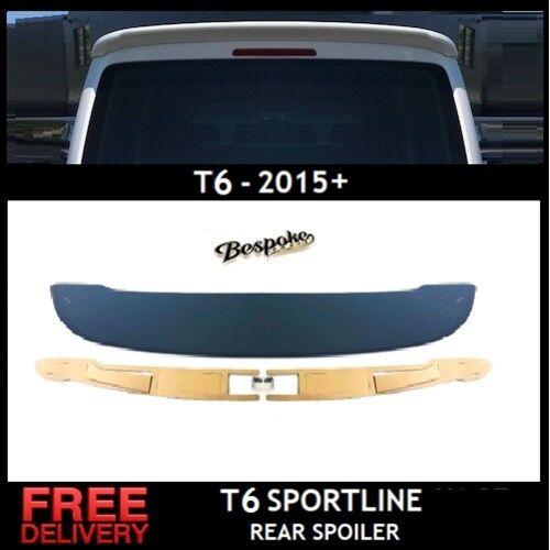 REAR BOOT TAILGATE ROOF SPOILER SPLITTER VW T6 STYLE TRANSPORTER SPORT LINE 15