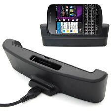 Dual Sync Data Battery Charger Station Dock Cradle & Cable For BlackBerry BB Q10