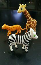 Melissa and Doug Sunny Patch LOT of 3 zoo animals Cheetah Zebra giraffe