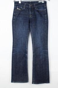 DIESEL Women Ramys Straight Leg Stretch Jeans Size W26 L30