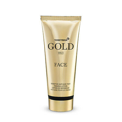"Tannymaxx ""Gold 999,9"" Sensitive Anti Age Face Tanning Lotion 75 ml"