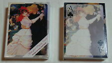 Pierre Renoir  Danse a la Bougival Pack of 4 Playing Cards full desk Laurel Ink