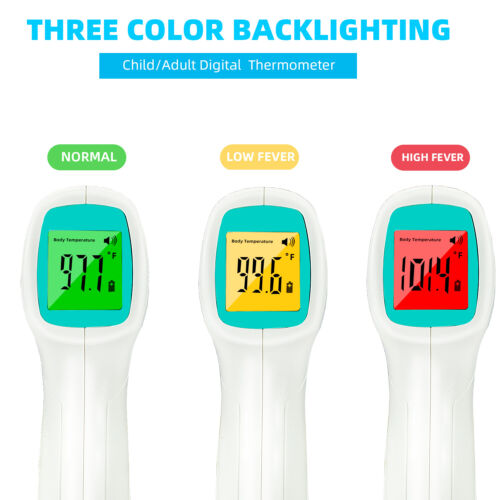 Non-Contact Infrared Digital Forehead Thermometer Baby Adult Temperature Gun USA