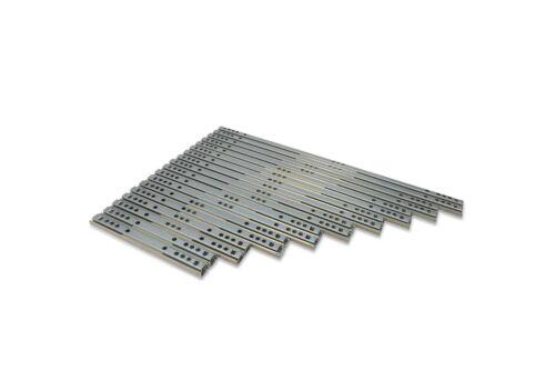 Roulement à billes glissières de tiroir coulissant télescopique Rail 17 mm
