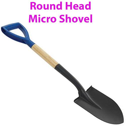 700 mm tête ronde Micro pelle-myD Poignée creuser//DIG Scoop jardin//LAND Spade