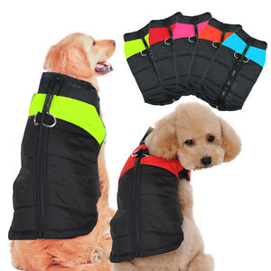 Chihuahua Winter Dog Coats Jackets Warm Waterproof Puffy Dog Clothes