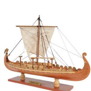 Drakkar-Dragon-Viking-Sailboat-Ship-Assembly-Model-Kit-Laser-Cut-Wood-DIY-Toy
