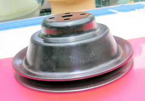 Corvette-1956-1957-1958-Hi-Stepped-Water-Pump-Pulley-Deep-Groove-w-GM-number