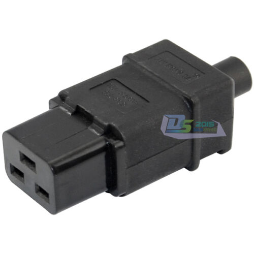 Rewirable IEC C19 Connector C19 Female Socket Power Cord Adapter Connector DIY
