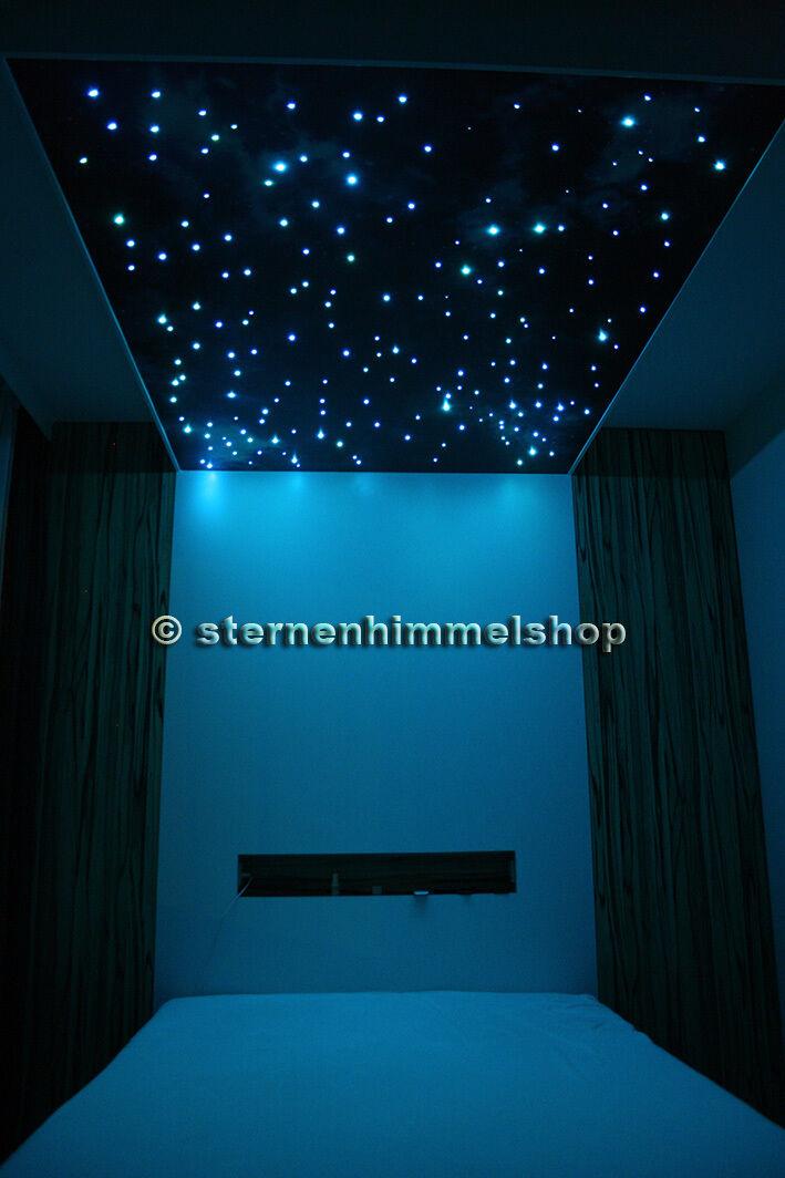 RGB LED Sternenhimmel 5 W Lichtfasern Glasfaser Optik viele Auswahlmöglichkeiten