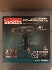 "New Makita 18V Lithium-Ion Cordless 1/2"" Hammer Driver Drill XPH01Z Bare Tool"