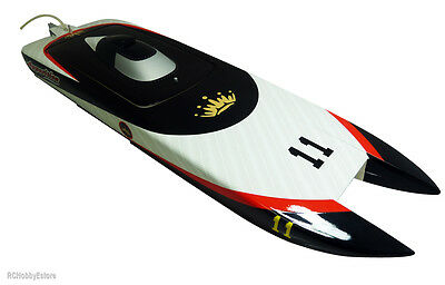 TFL HOBBY ELECTRIC BRUSHLESS LIPO ARTR REMOTE CONTROL FIBREGLASS RACING BOAT