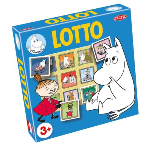 Tactic Moomin Lotto Game - Ages 3 plus 2-4 players.