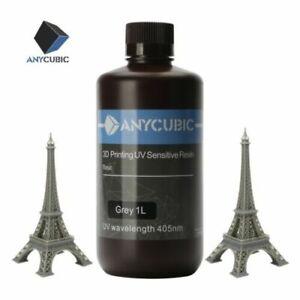 ANYCUBIC UV Resin 1kg Grey(Gris) Color pour Imprimante 3D SLA Photon 3D Printer