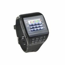Q5 Touch Screen Mobile Wrist Watch Cell Phone Bluetooth GSM GPRS FM MP3 Player