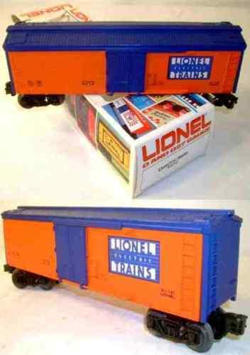 Lionel 5712 Muy Raro hacer oferta aranciablu turnofcent como nuevo C10 en caja como nuevo C9