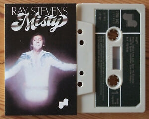 RAY-STEVENS-MISTY-JANUS-7208-102-1975-UK-CASSETTE-TAPE-SUPERB-CONDITION