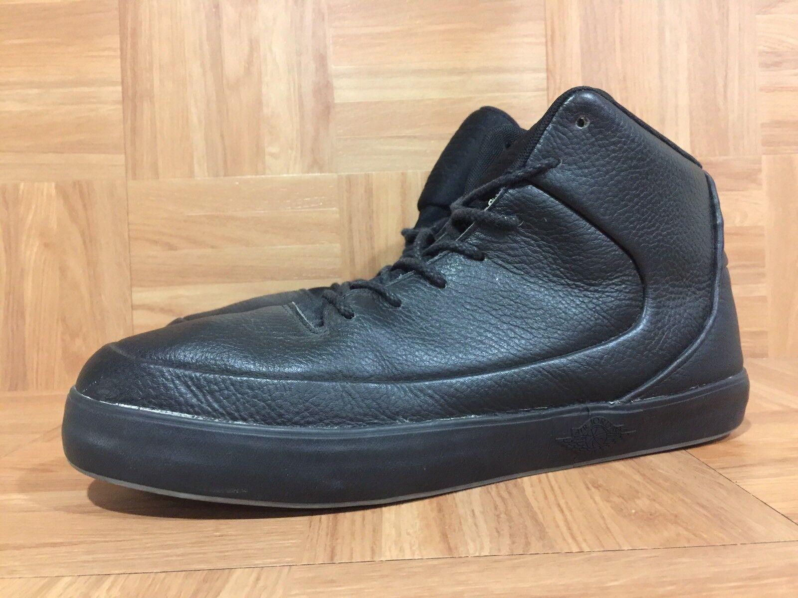 21dd186c734ee7 ... RARE Nike Air Jordan Jordan Jordan V.9 Grown Mid Black Leather shoes Sz  10 ...
