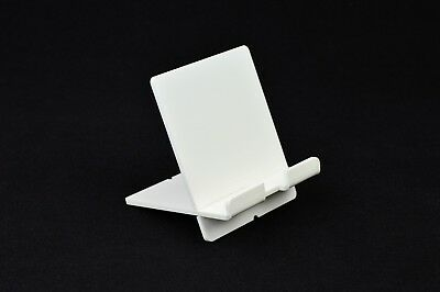 Di Carattere Dolce Tablet/ipad Titolare/supporto Ereader/smartphone Stand-bianco In Acrilico-mostra Il Titolo Originale Smoothing Circulation And Stopping Pains