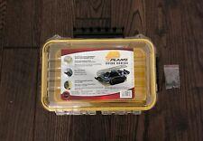 Waterproof Cell Phone /& Stow Box PLANO GUIDE 3600 SERIES Medium//Yellow 1460