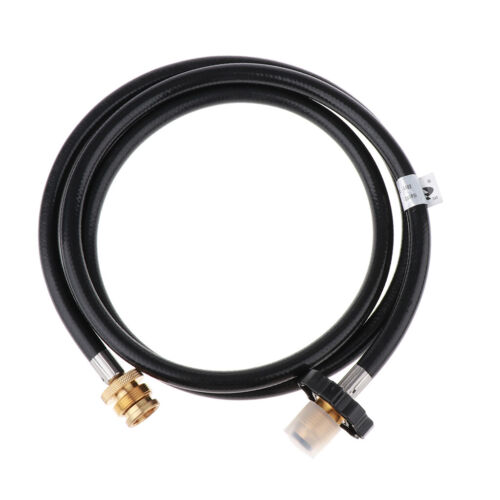 Durable 6Ft LP Tank Propane Adapter Hose Assembly with POL Connector