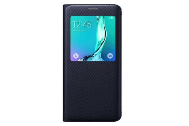 online retailer 22c09 d6642 Original Samsung Galaxy S6 Edge Plus Blue S-view Flip Cover Case