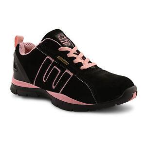 per da Uk neri lavoro donna da stivali lavoro Stivali da scarpe stivali lavoro neri scarpe stivali 8w0gqZEaO