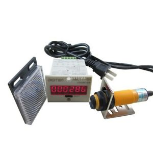 100-240VAC-6-Digital-LED-Counter-Photoelectric-Sensor-Automatic-Conveyor-Belting