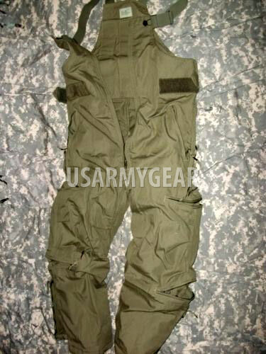 Cold Weather Nomex Windbraker Heavily Insulated US Army Ski Snow Mobile Overalls