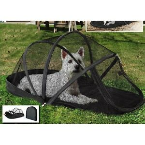 Image is loading New-Pet-Outdoor-Tent-Portable-Cat-Dog-House-  sc 1 st  eBay & New Pet Outdoor Tent Portable Cat Dog House Folding Anti-Mosquito ...