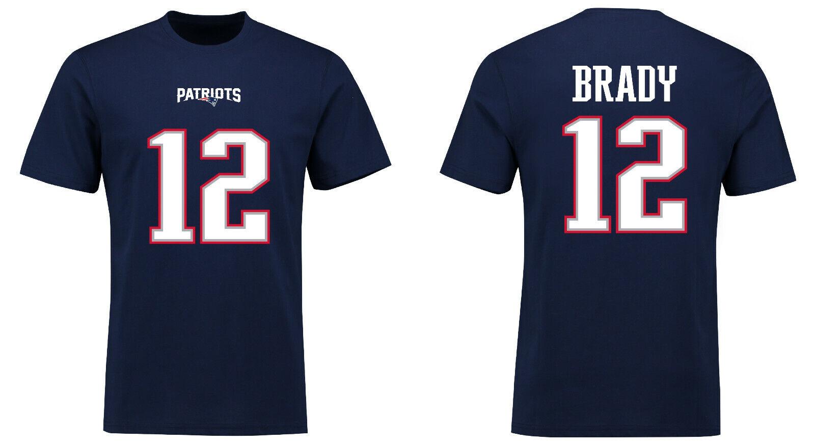 NFL T-Shirt New England Patriots Tom Tom Tom Brady 12 rotburn NN5 Football Trikot Jersey d9e87c
