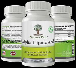 Simply-Nature-039-s-Pure-Alpha-Lipoic-Acid-600mg-120-veggie-4-month-supply-ALA-R-ALA