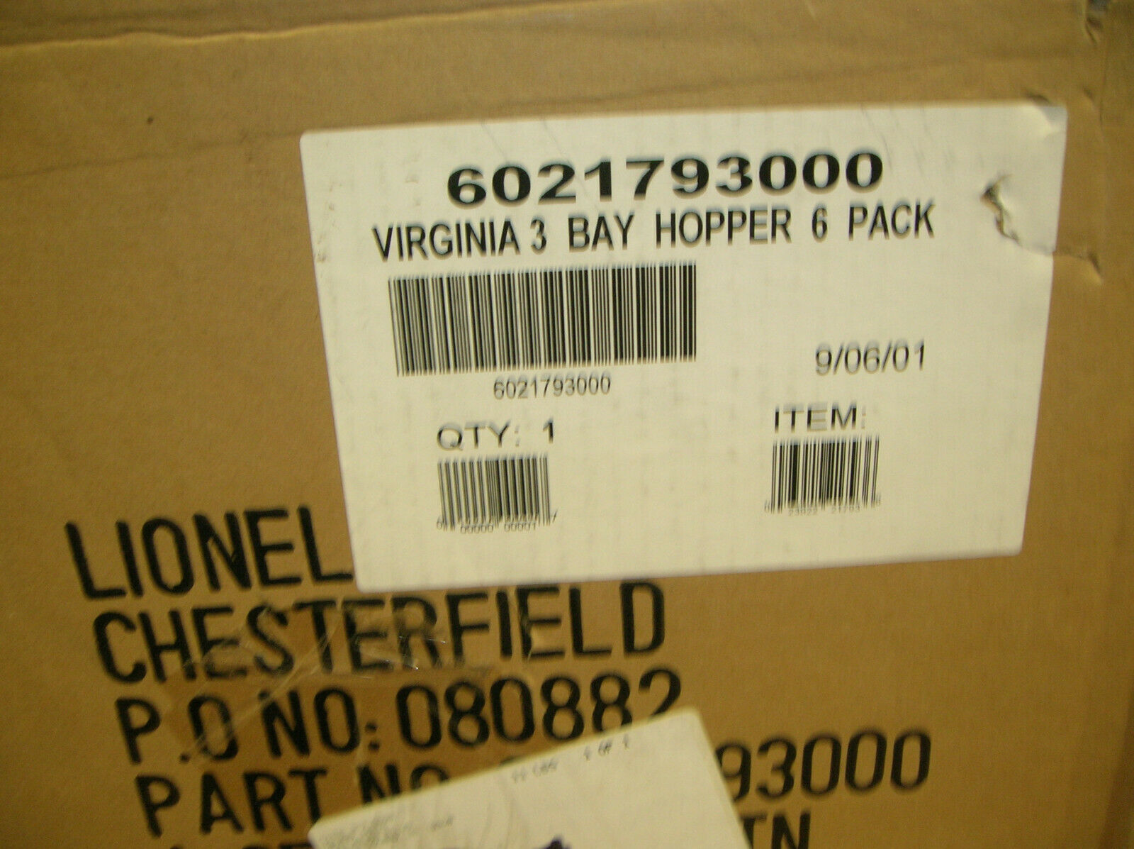 LIONEL 621793 VIRGINIA STD O 3 BAY HOPPERS WLOADS  Wauto  s   rendere OFFERS