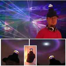 Disco Ball Hat Party Cap Rotating Lights Fancy Dress Dancing Festival Novelty