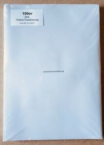 DHL Versandetiketten selbstklebende A4 Klebeetiketten Paketschein Aufkleber DPD