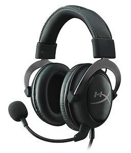 Kingston-HyperX-Cloud-II-Pro-Gaming-Headset-3-5-m-imbottiture-canna-di-fucile