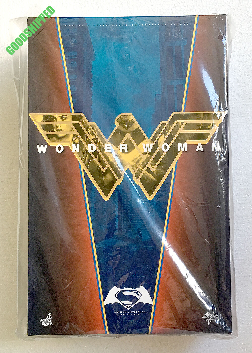 READY READY READY HOT TOYS BATMAN V SUPERMAN DAWN OF JUSTICE WONDER WOMAN GAL GADOT MMS359 96a182
