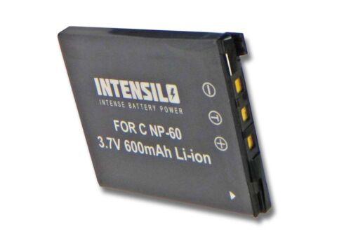 Bateria 600mah para Casio Exilim ex-z25//ex-z80//ex-z90 np-60