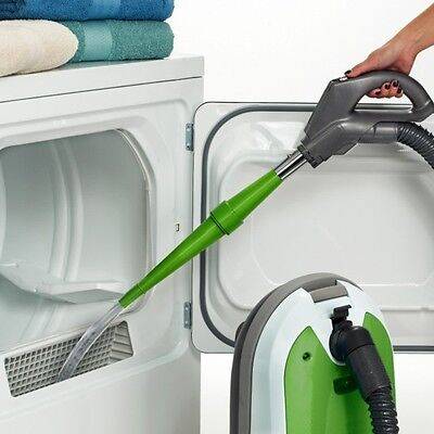 Lint Trap Cleaning Tool and Attachments - Fits Any Vacuum