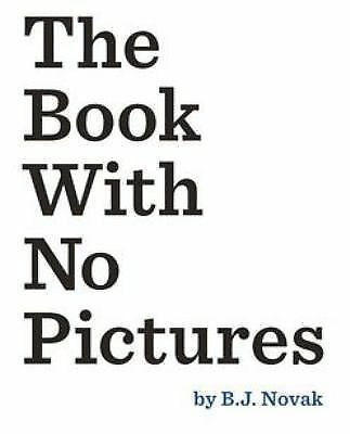 The Book with No Pictures (2014, Hardcover)