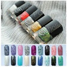 6 Stk 6ml Stempellack für BORN PRETTY Nail Art Stamping Lack Set