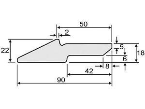 Schuerfleiste-Schneidkante-Frontlader-Erdschaufel-Leichtgutschaufel-90x22-ST-70-2
