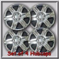 4 18 Chrome Aftermarket Hubcaps, Chrome Wheel Covers, Great For Snow Tires