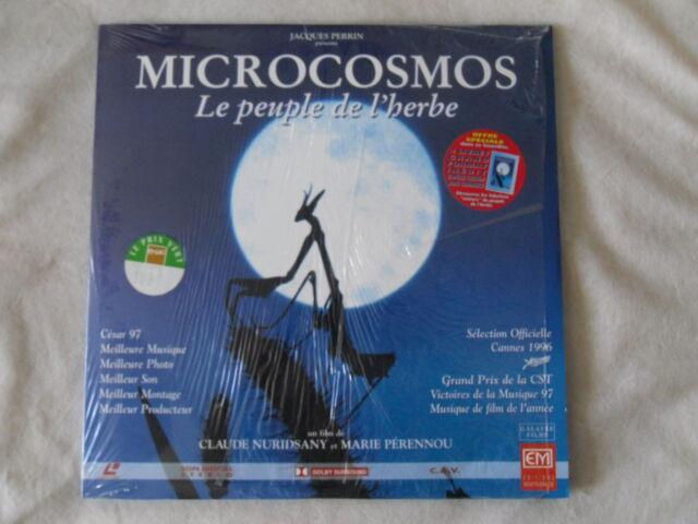 LASER DISC   MICROCOSMOS Le peuple de l'herbe  Complet avec le livret