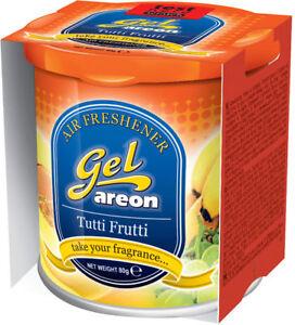 12x Original Areon Gel Can Duftdose Arbre Désodorisant Capot / Couvercle