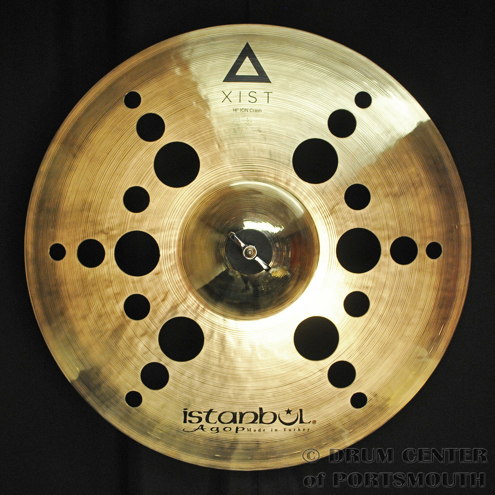 Istanbul Agop Xist Ion Crash Cymbal 16  - VIDEO - XION16