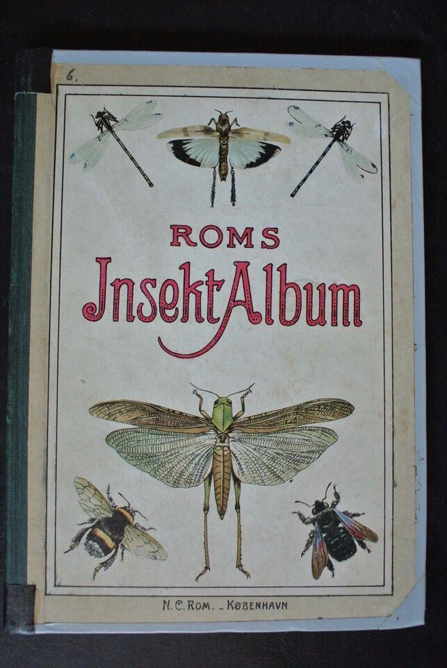 roms insekt-album, emne: dyr