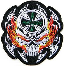 The Lost Boys Images Silver Skull Iron On//Sew On Patch       10201