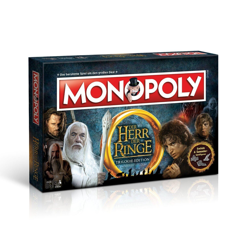 Herr der ringe - monopol brettspiel gesellschaftsspiel protigt deutsch